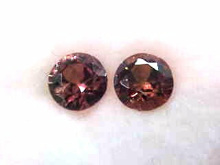 color change garnet pair