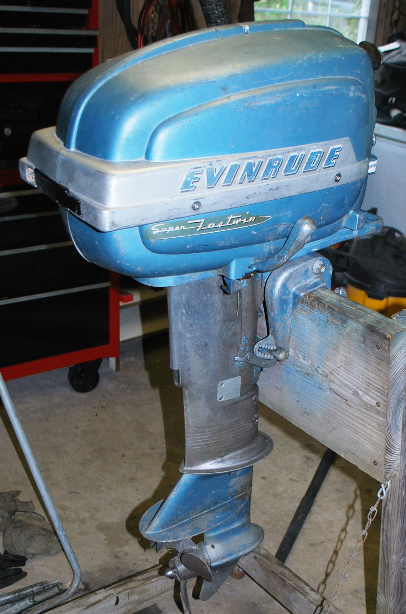 1953-56 Evinrude 15 HP Outboard Parts