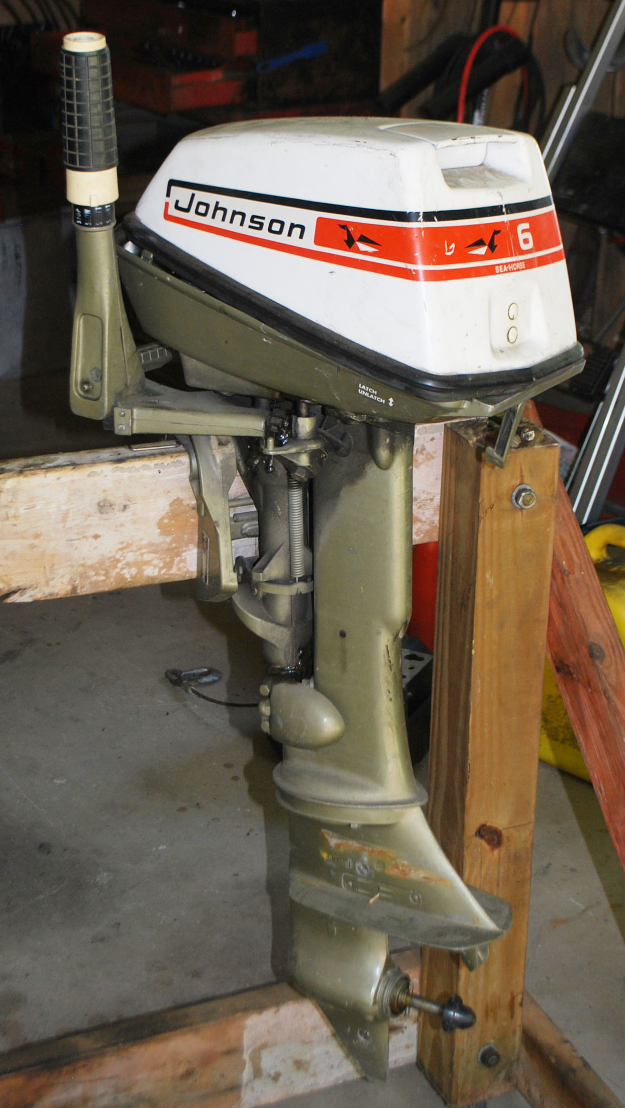 Parts for 1973 Johnson 6 HP Outboards